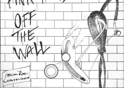 Pink Floyd Off The Wall-Special Radio Construction, front cover
