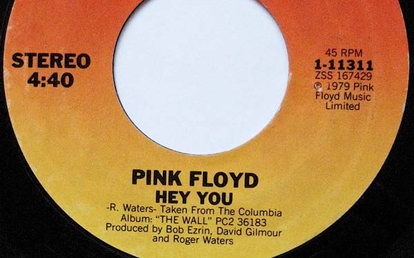 hey you, the wall, pink floyd, extended, complete