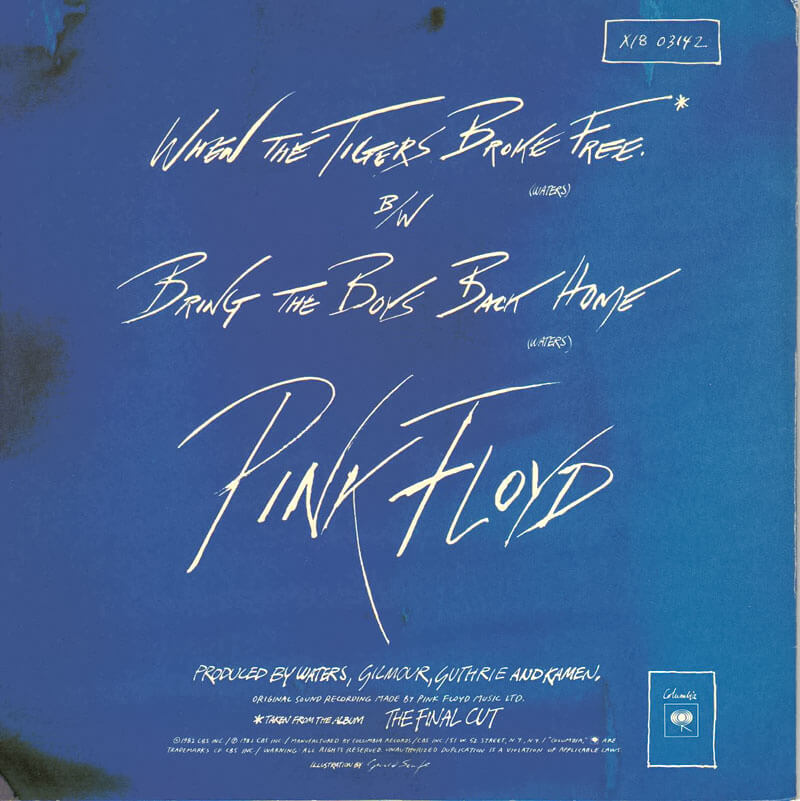 Pink floyd when the tigers broke free single dating. Dating for one night.
