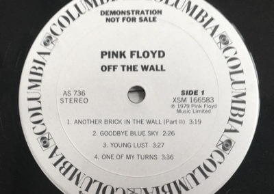 Pink Floyd-Off The Wall, label, Side 1