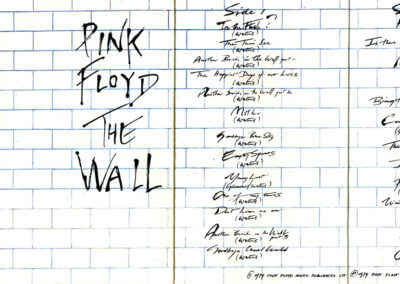 The Wall, cassette