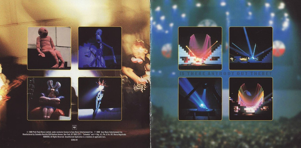 is there anybody out there the wall live 198081
