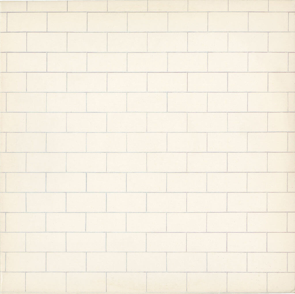 pink floyd, the wall, cover, album, vinyl, lp