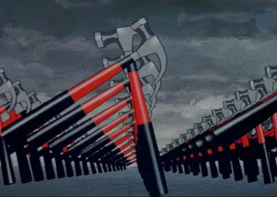 the wall, pink floyd, marching hammers, waiting for the worms