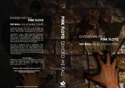Divided We Fall, Original DVD cover