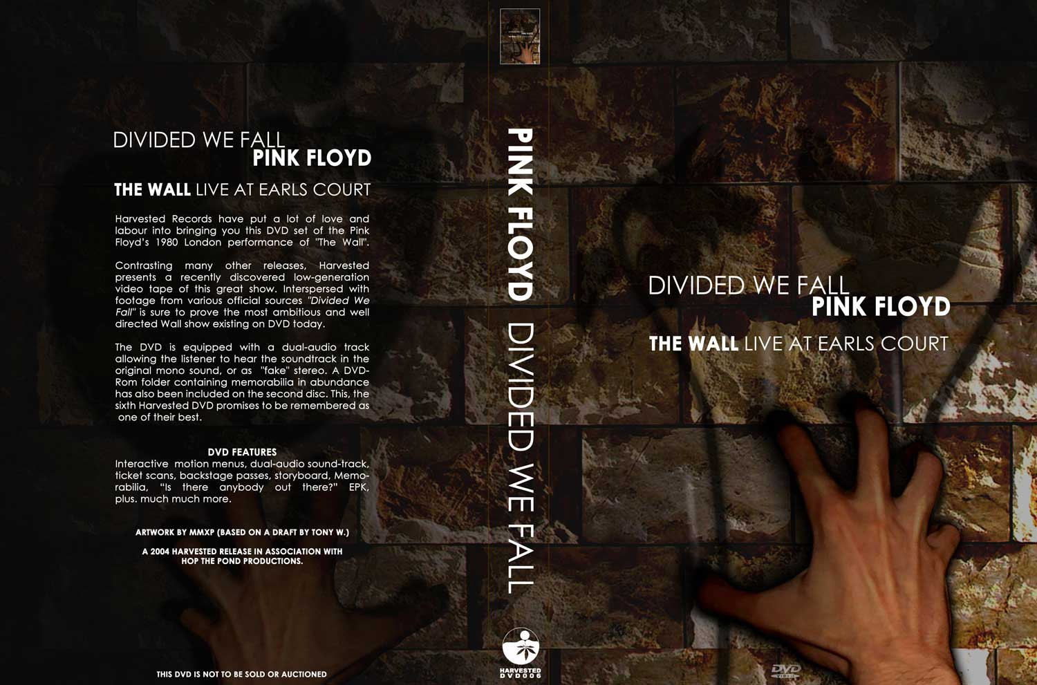 DVD: Divided We Fall - The Wall Live at Earls Court