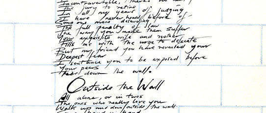 The Wall, the trial, Kurt Weill, Bob Ezrin