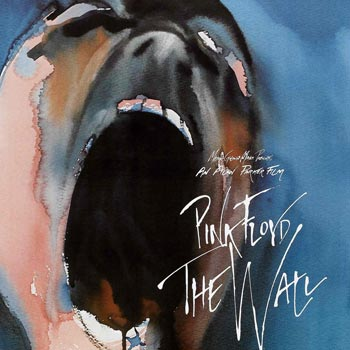 pink floyd, the wall, movie, poster