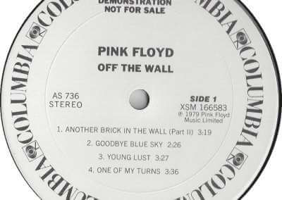 pink floyd, the wall, promo, run like hell, another brick in the the wall, off the wall, special radio construction